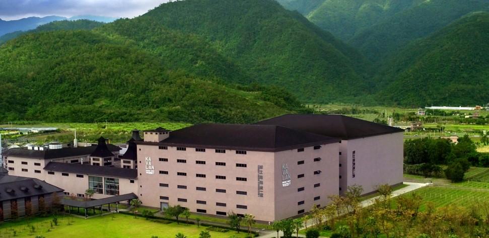 Kavalan distillery in Yilan, Taiwan
